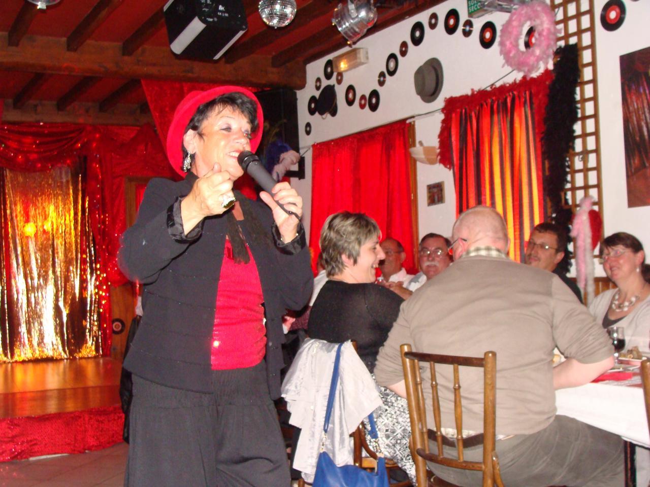 Sortie Cabaret le 01/07/2012